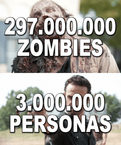 zombies walking dead